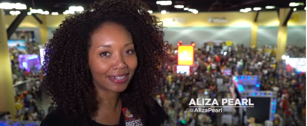 Beautiful Video by Aliza Pearl from Puerto Rico Comic Con by Nerdist
