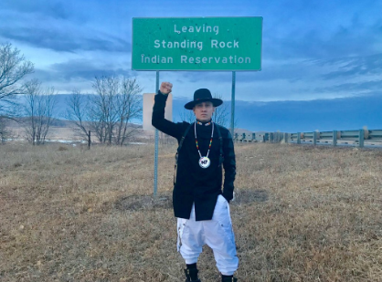 Taboo at Standing Rock Indian Reservation. Photo Credit: Taboo