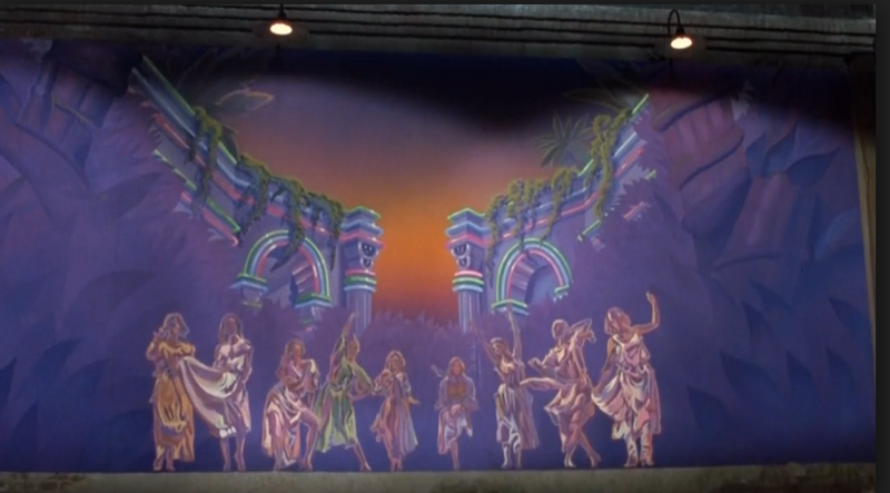 9 muses, Screenshot from the Universal Pictures movie Xanadu