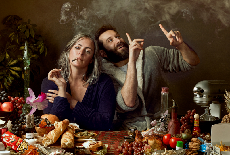 Still Life in Snackage, Mary Jane Gibson and Mike Glazer Photo by the amazing Lauren Hurt