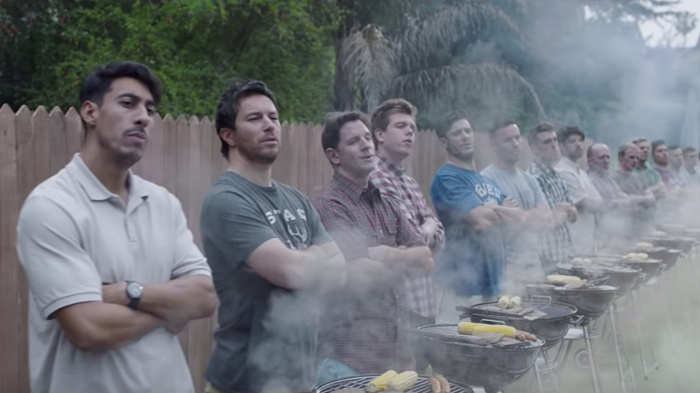 Screen shot from Gillette's New Ad Campaign — Credit Proctor & Gamble/Gillette