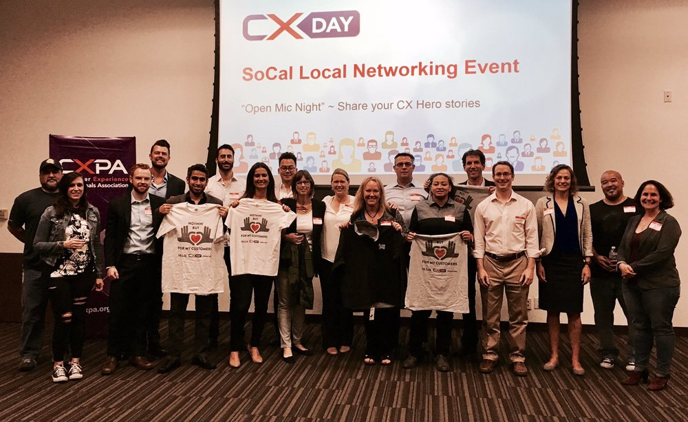 Mohammed Almokhem celebrating CXday with CXPA in Los Angeles