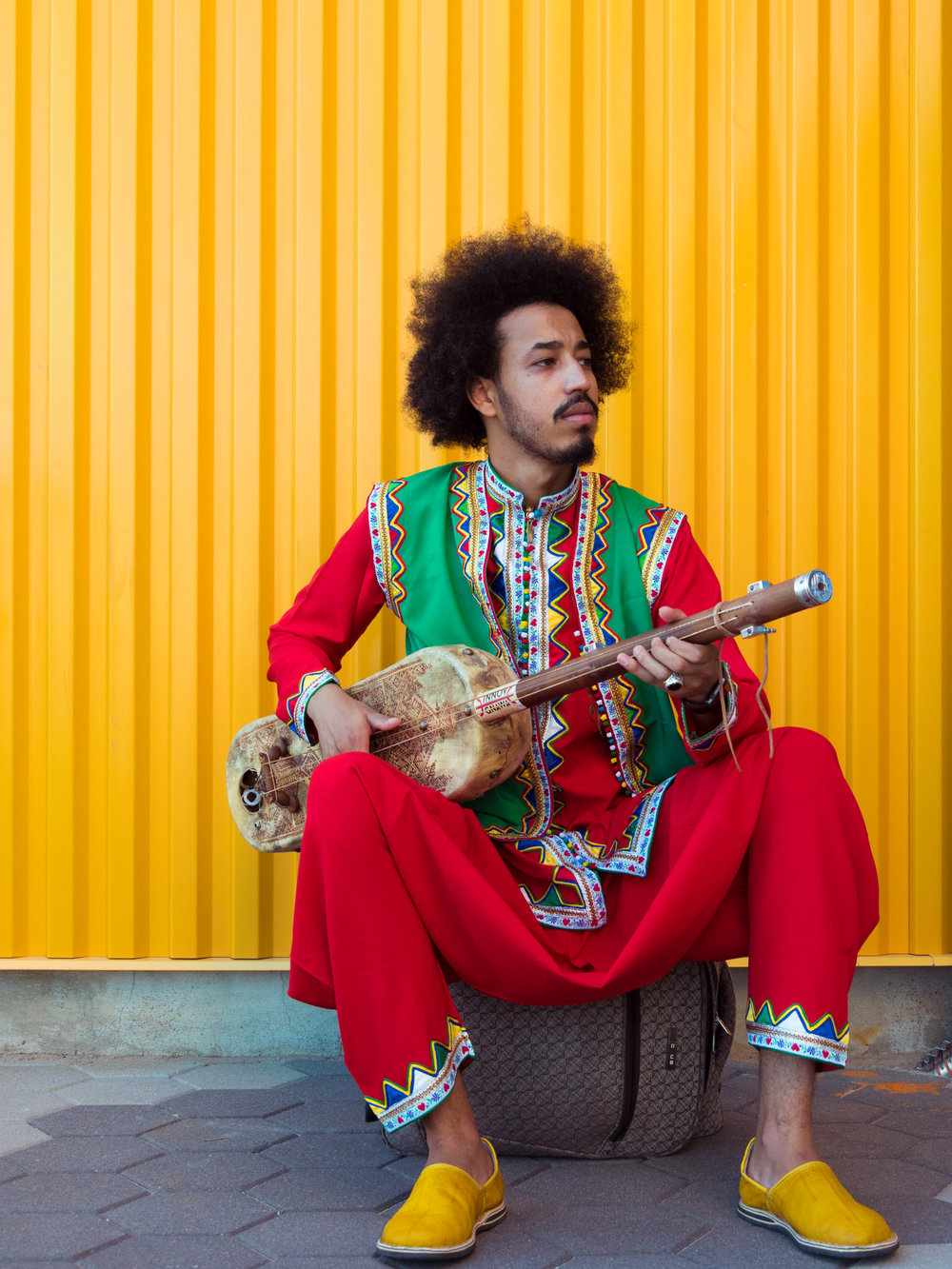SAMIR LANGUS  | INTRO TO GNAWA MUSIC & CULTURE, SENTIR, PERCUSSION