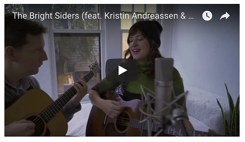 Want a sneak peak at this kids' album our co-founder @kristinbobistin has been working on? This song (about not being afraid of the dark) was debuted at the camp bonfire last year with a pile of kids singing backup. Feat. @crittereldridge . Follow The Bright Siders for updates. #milesmusiccamp #songwriting