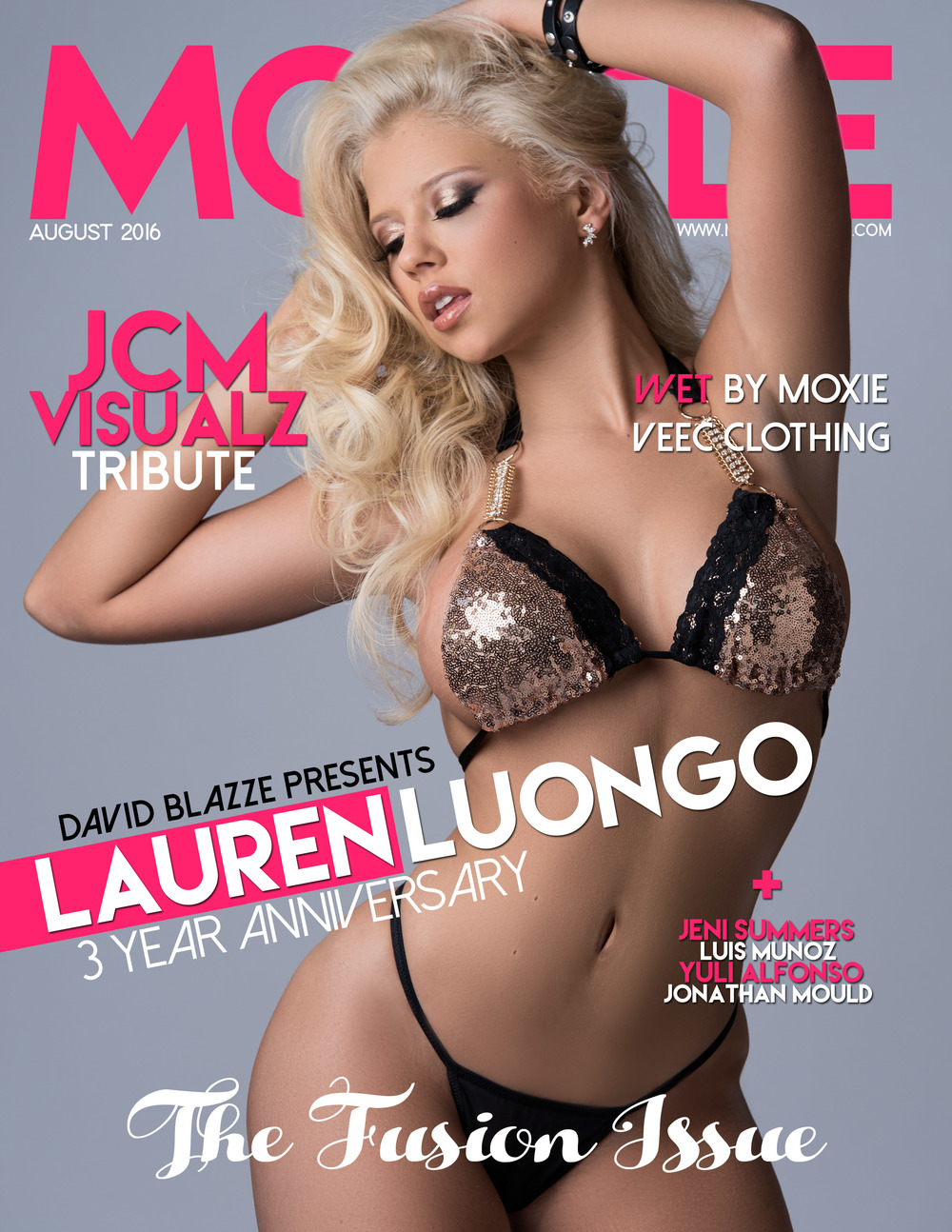 Cover of Model Modele Magazine August 2016