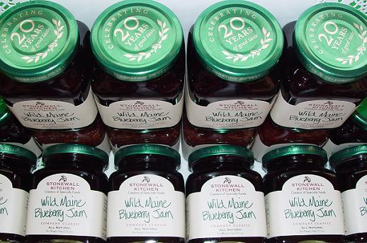 JAMS- Stonewall Kitchen Gourmet foods, Maine Made gifts! Blueberry ...