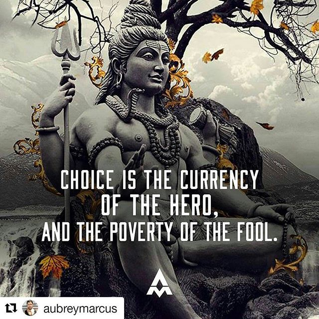 Powerful @aubreymarcus  Thank you for the words and constant inspiration!  #Repost @aubreymarcus (@get_repost) ・・・ Fear erodes choice. Greed erodes choice. Attachment erodes choice. The hero faces these demons so that he may become free. So that he can choose. Without choice you are a slave.  You have nothing.  And so the hero is wealthier than the richest person in the world. - #wealth #money #getonnit #society #greed #future #futurism