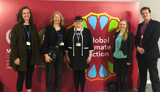 Meeting with Professor Robyn Eckersley, COP22