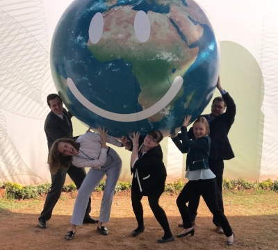 THE GLOBAL VOICES 2016 COP22 delegation TO marrakech