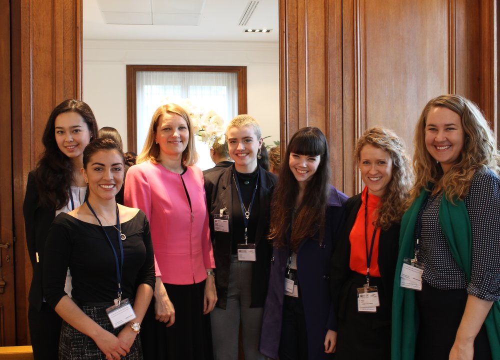 OECD delegates meeting with Former Prime Minister of Finland Mari Kiviniemi (paris, 2016)