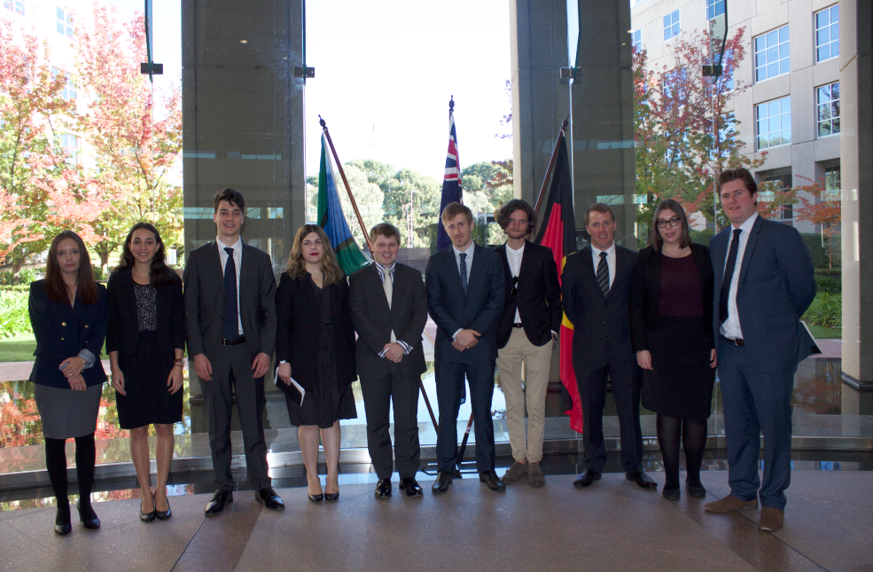 Y20 and OECD delegates at the department of foreign affairs and trade