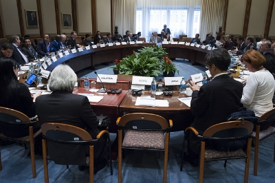 Fiscal monitor session at the IMF (Photo: International Monetary Fund)