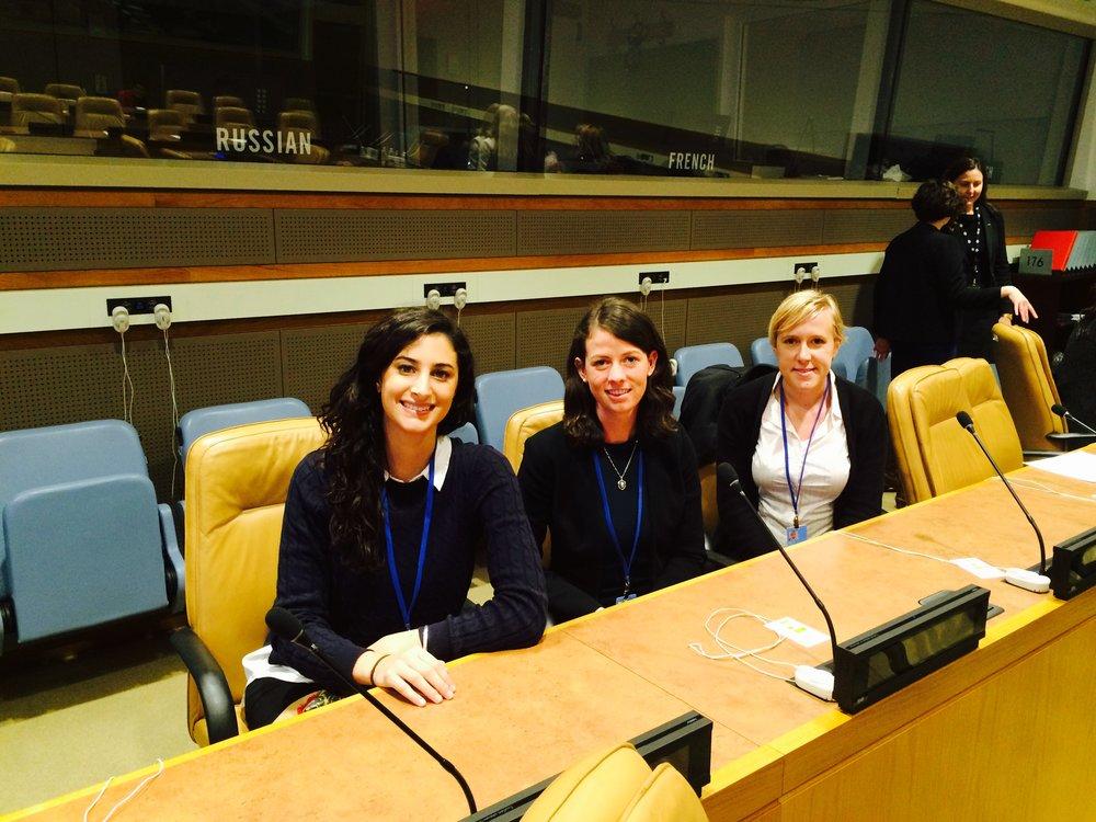 Delegates at UN (Lamisse, Tori, Renee) copy.jpg