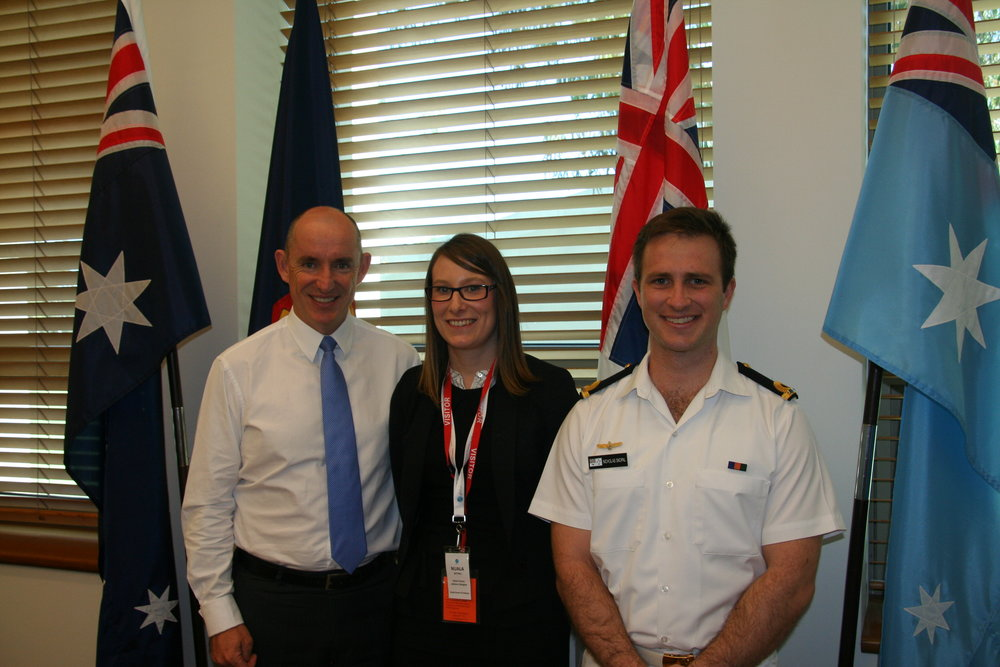 Global Voices Defence Delegates with Assistant Minister for Defence The Honourable Stuart Robert MP copy.jpg