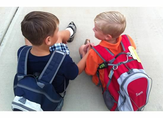E and S holding hands before school.jpeg