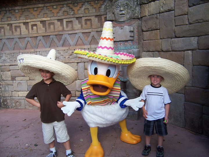 2011 Boys with Donald Duck.jpeg