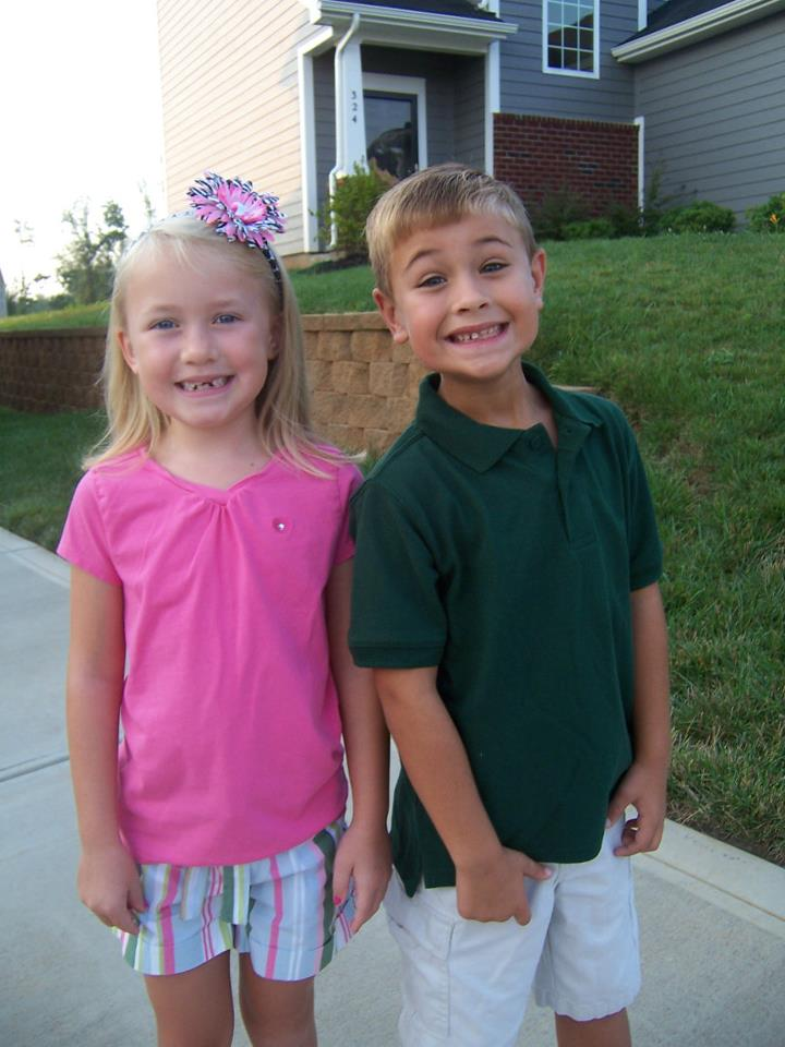 2011 E and Grace first day of school.jpeg