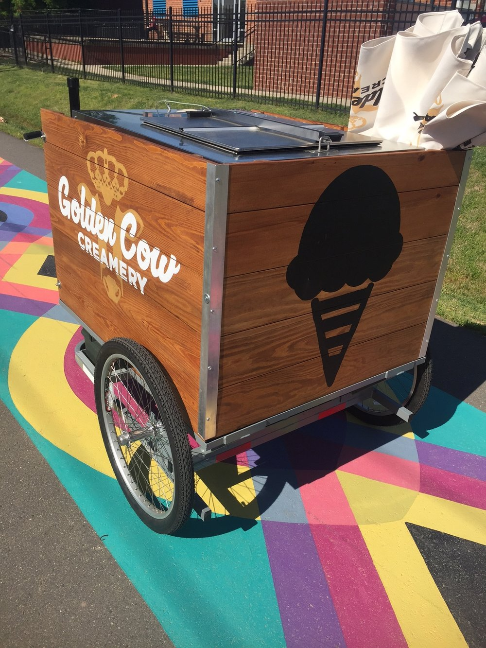 Ice Cream Bike on rail trail.JPG