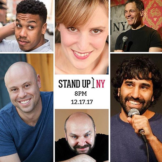 2 chances to see me tonight at @standupny