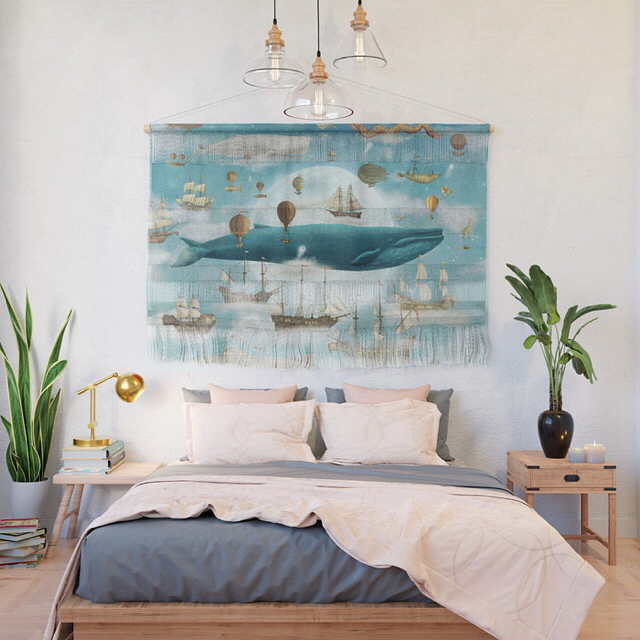 Tomorrow on Society6, get 25% off wall hangings, murals, and framed prints using the code ARTHANG. Link to my shop in profile. #society6 #art #wallart #design #home #homedecor #style