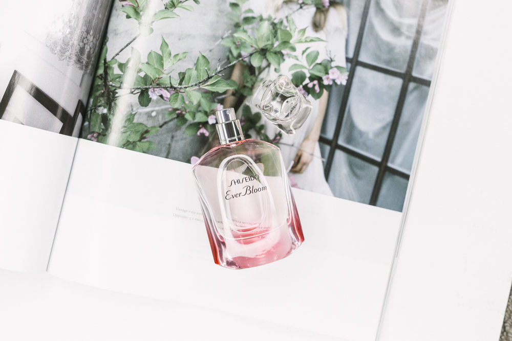 Shiseido Ever Bloom Perfume | Photographed by Clara Pafundi for Sauce