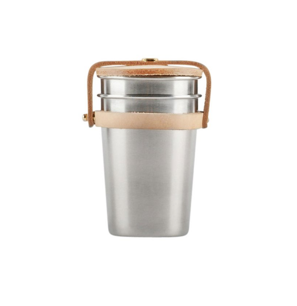 Leather & Steel Cup x Yield, $65 AUD