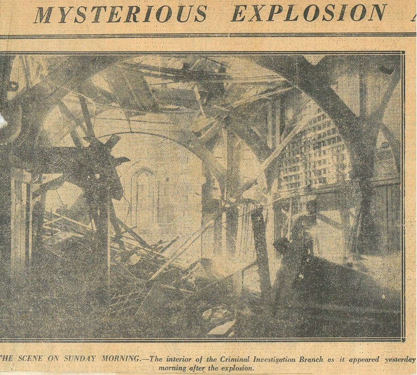 Mysterious Explosion,  Daily Mail , 15 Aug 1927