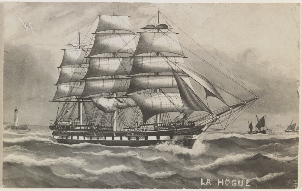 The La Hogue. Source: State Library of Victoria
