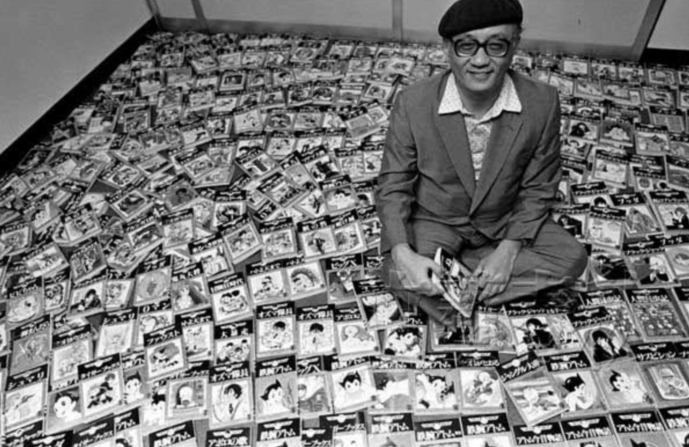 "OSAMU TEZUKA (1928-1989) - The 'Godfather of Anime' best known as the creator of the comics series   Astro Boy   and   Kimba the White Lion  , whose pioneering techniques and innovative style in art and animation defined then redefined ""manga"" and anime."
