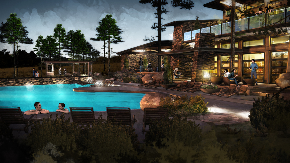 Rec Site - Pool and Clubhouse - Night.jpg