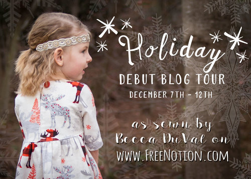 Free Notion - Gorgeous little winter princess outfit!