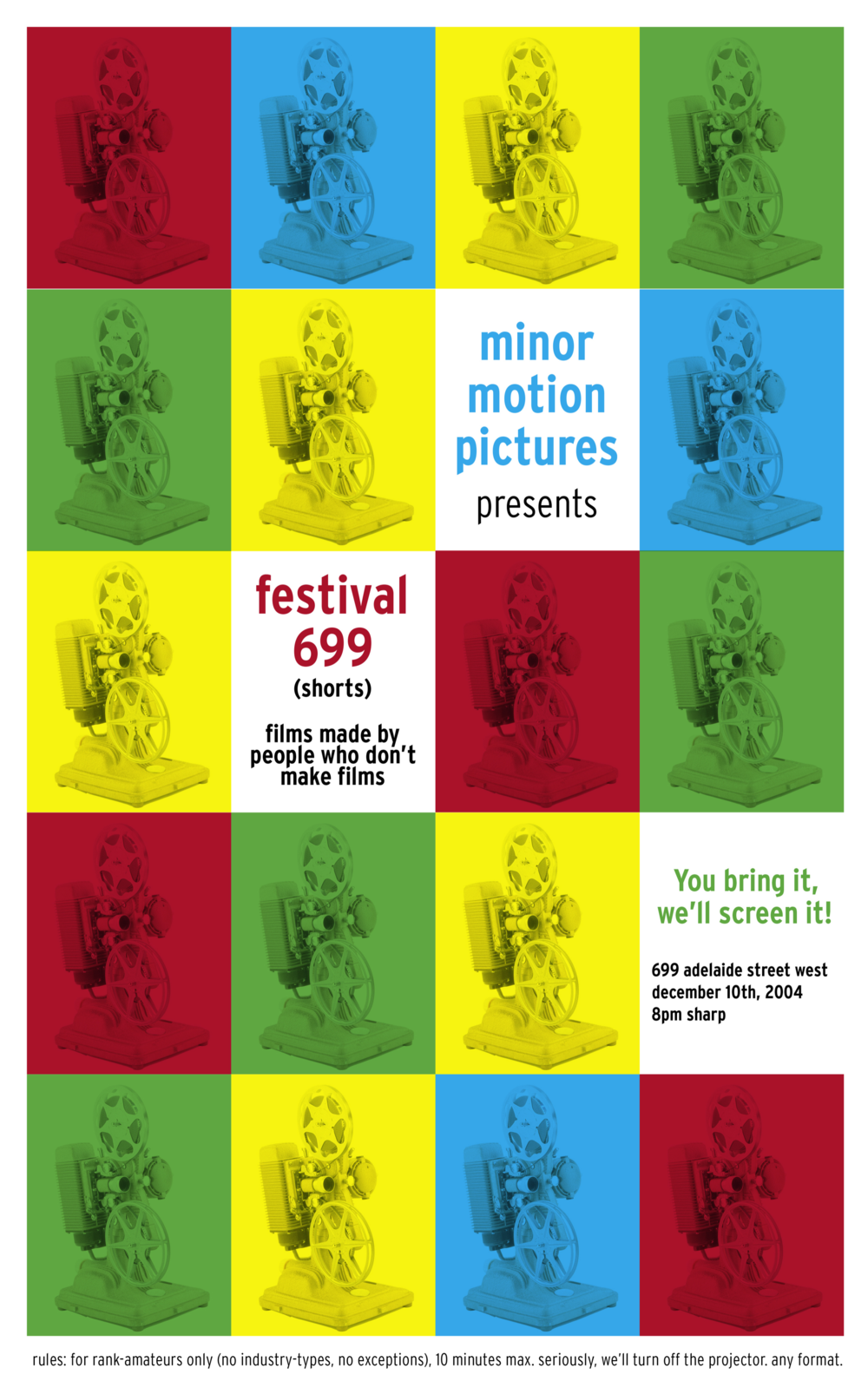 Festival699 2005 Poster