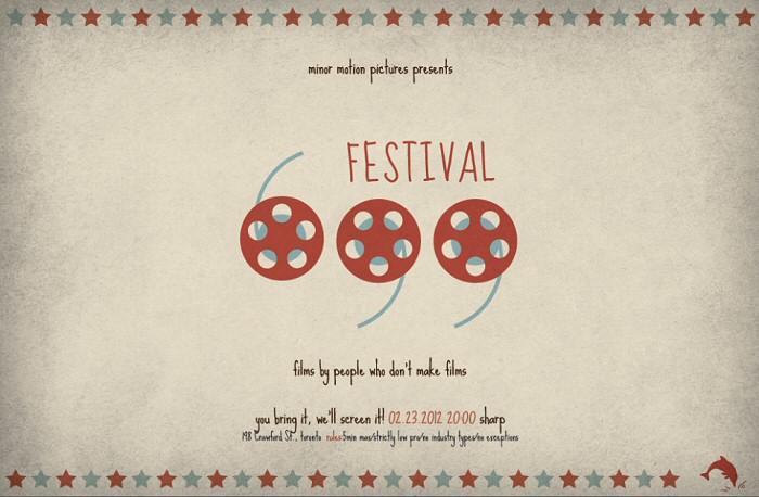 Festival699 2013 Poster