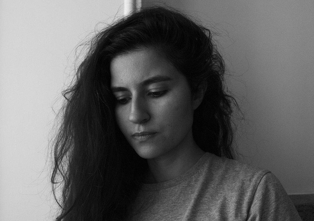 Maryam Tafakory (self-portrait)