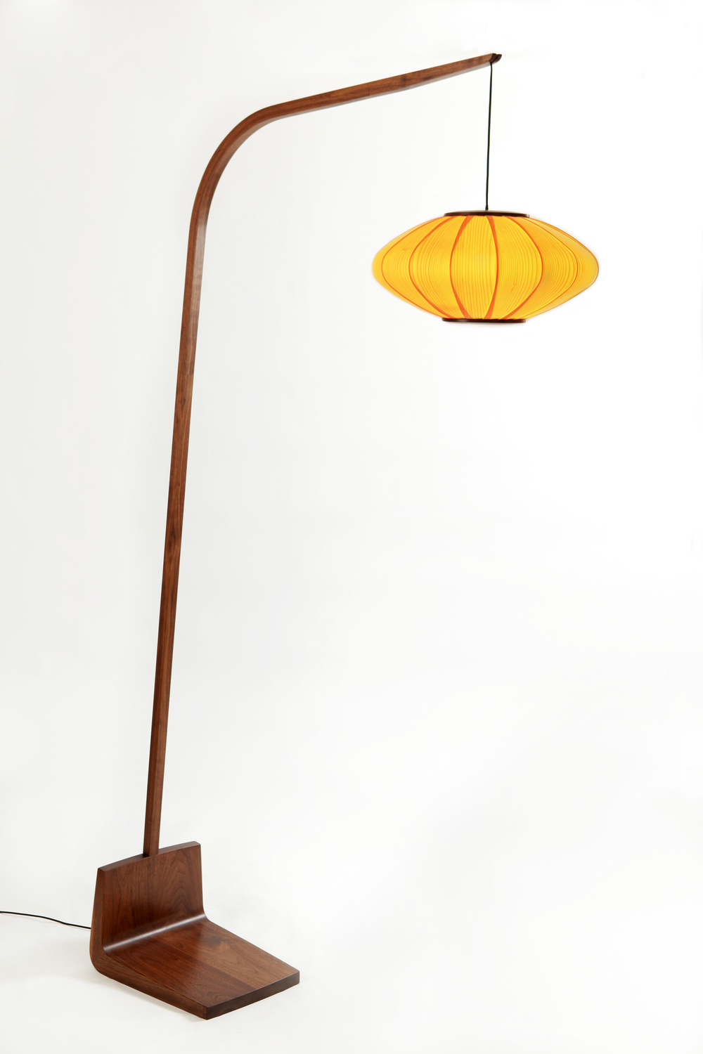 "18"" pendant lamp and stand"