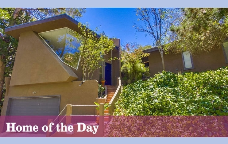 Home of the Day: Playing the angles in Laurel Canyon (LA Times)