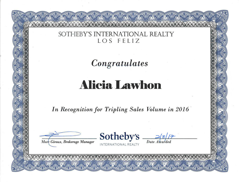 Sotheby's Award (2016)