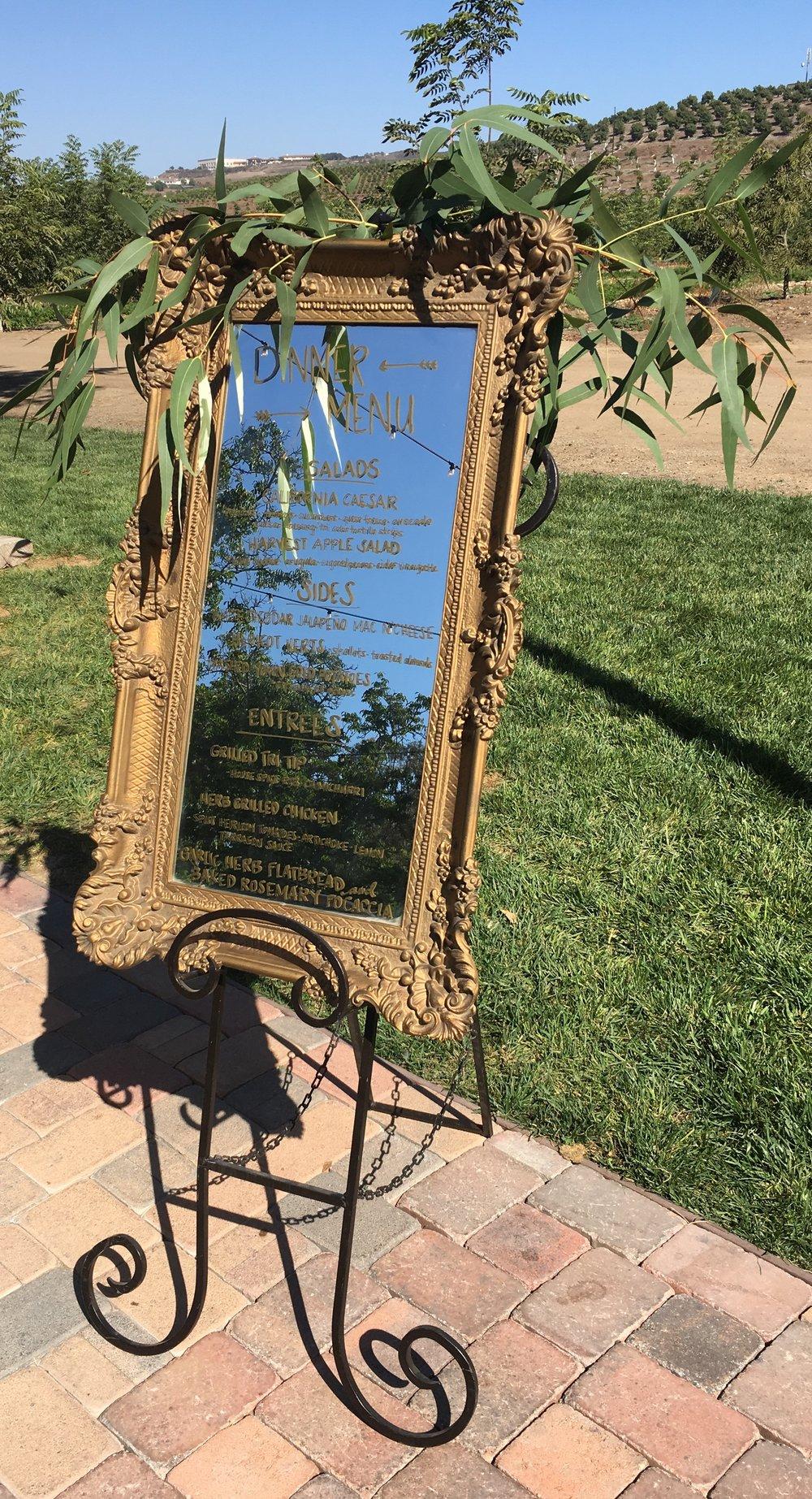 Iron Easel -- $25
