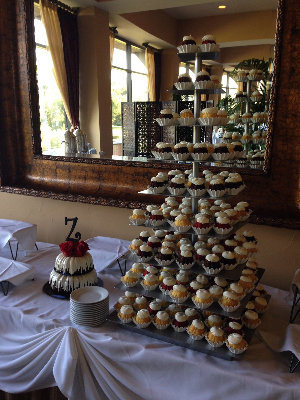 Large Cupcake Tower -- $75