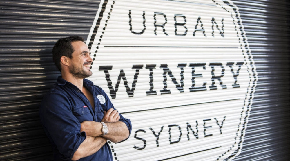 Alex Retief of Urban Winery Sydney.