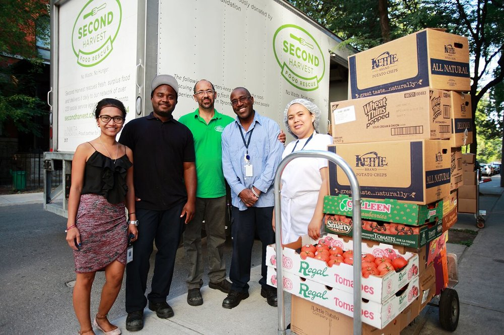 The team at Second Harvest. Photo supplied.