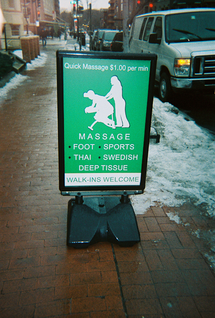 Thinking About Keeping Warm At This Crazy Massage Parlor