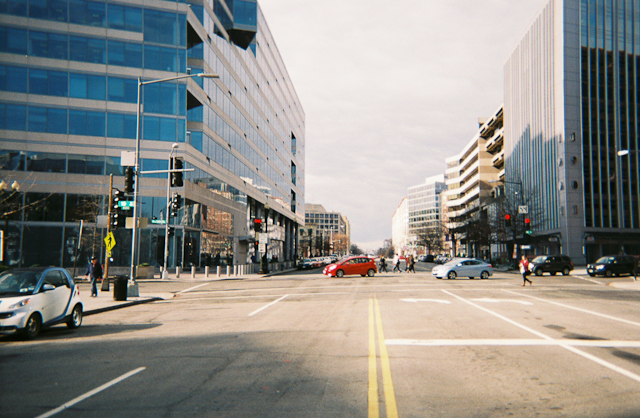 Pennsylvania Avenue Going Towards Georgetown