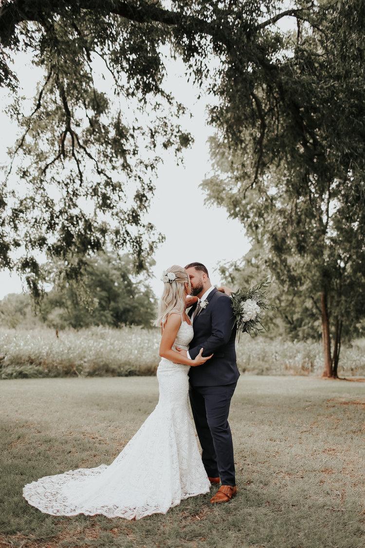 LOGAN + KINSEY - BACKYARD OKLAHOMA WEDDING