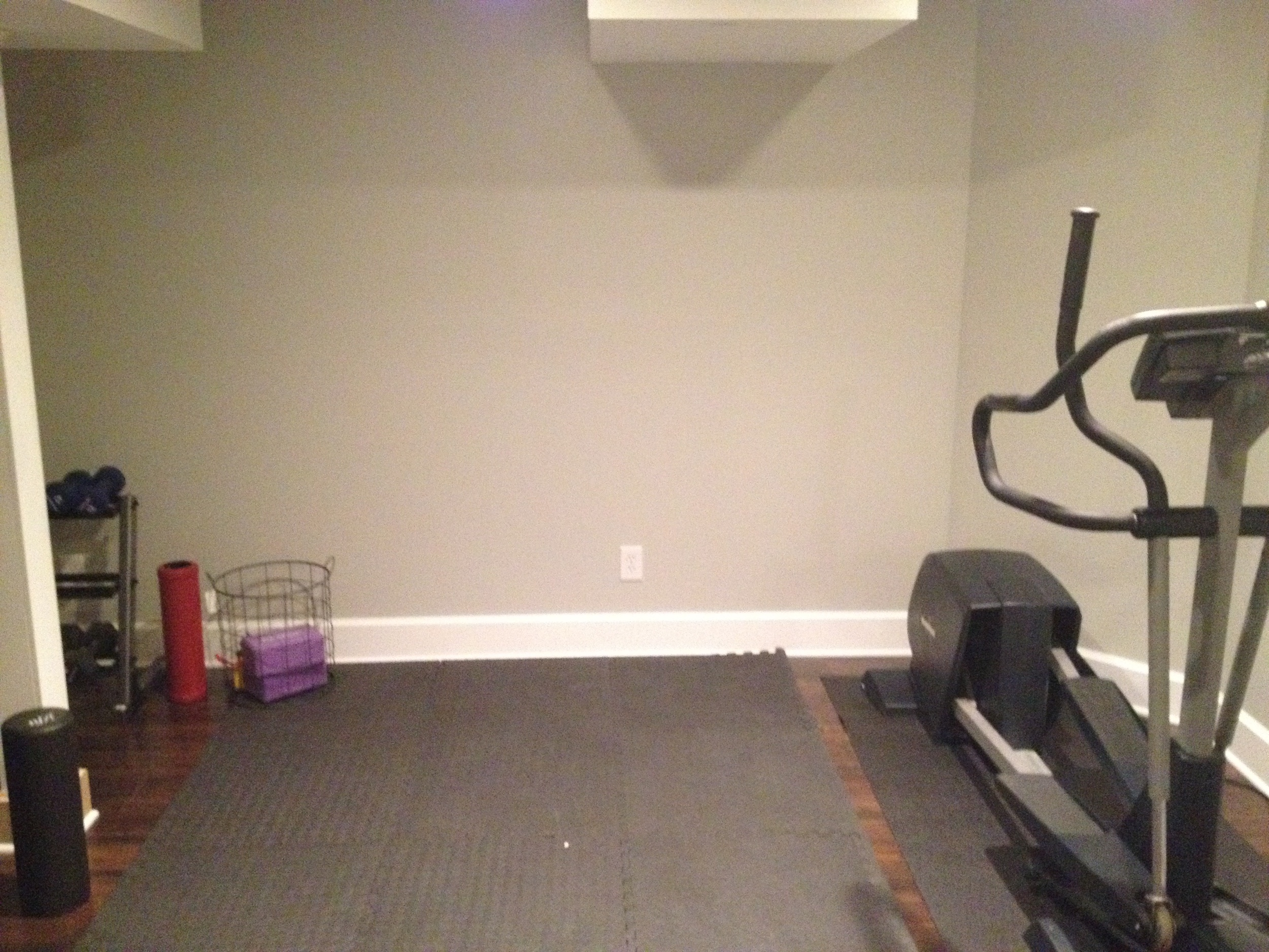 workout back wall
