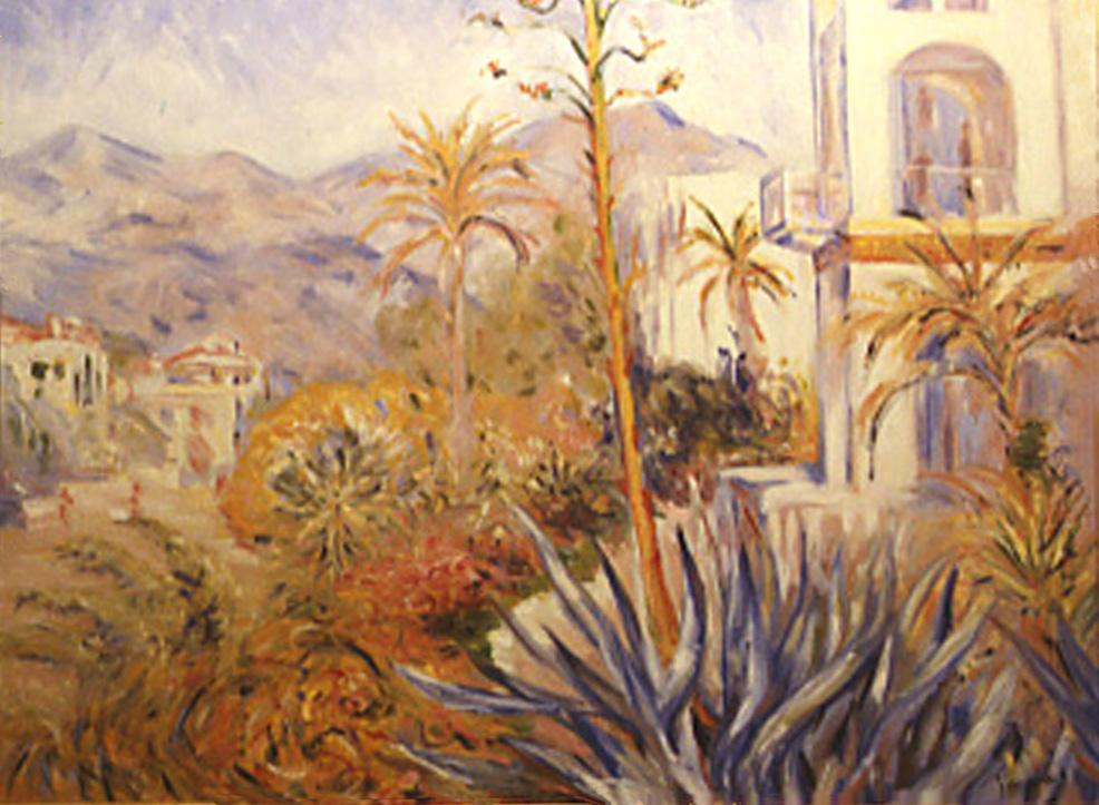Villas a Bordighera by Claude Monet