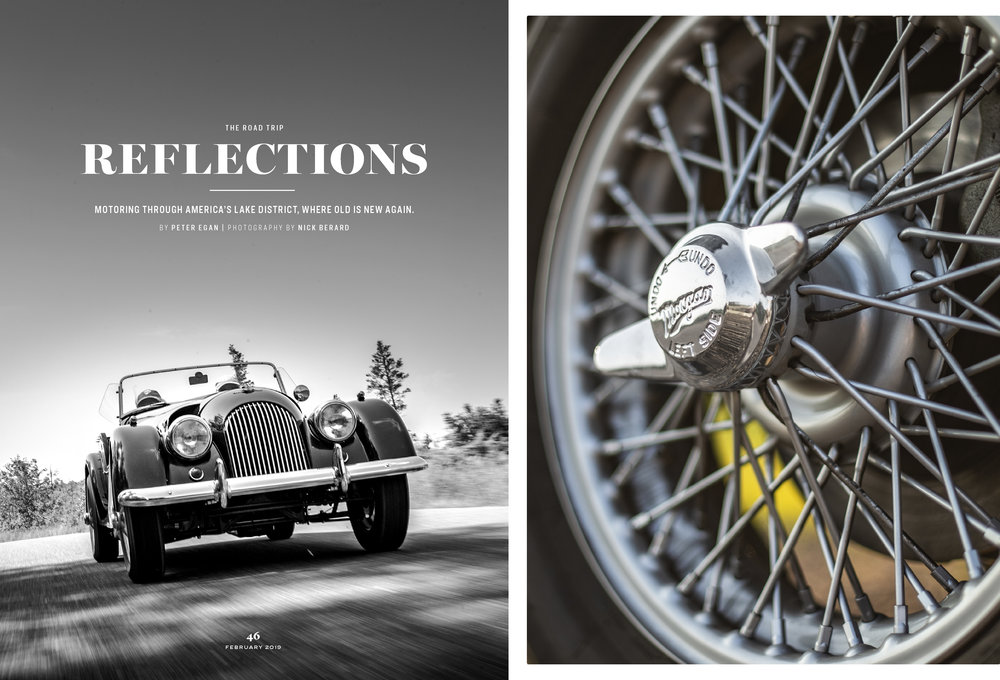Road & Track - Peter Egan's ground up Morgan Restoration - Full article and more