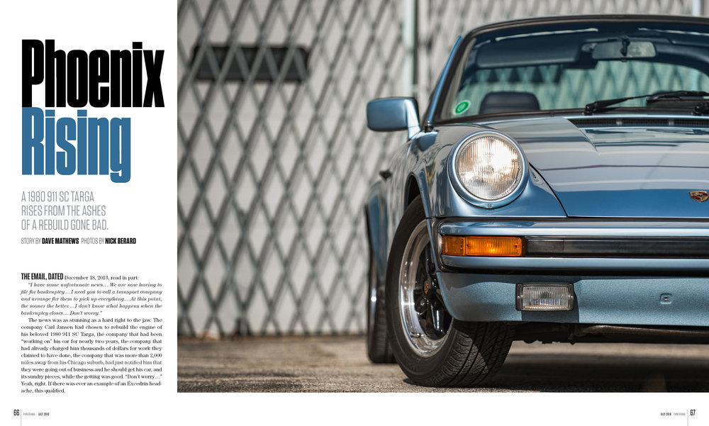 Porsche Panorama - Phoenix Rising - FULL ARTICLE