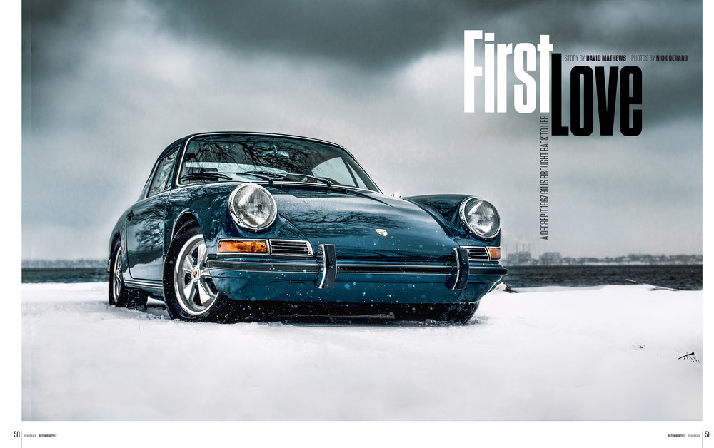 Porsche Panorama - First Love - FULL ARTICLE