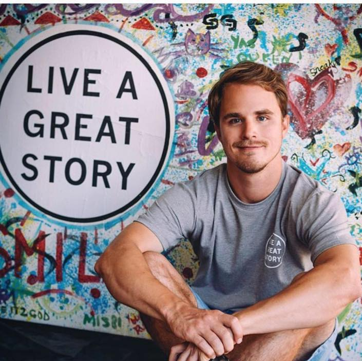 ZACH HORVATH, Founder, Owner LIVE A GREAT STORY